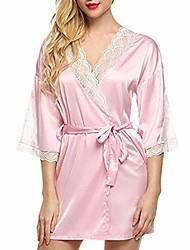 cheap -women lingeries sexy lace decal sleepwear lingerie temptation underwear floral sleepdress(pink, l)