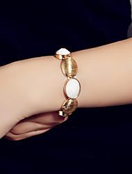 cheap -Women's Bracelet Classic Fashion Fashion Alloy Bracelet Jewelry Gold For Festival