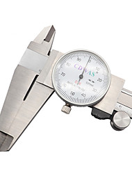 cheap -Stainless steel caliper with gauge 0-150 / 200 / 300 mm industrial ruler