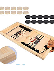 cheap -Board Game Fast Sling Puck Game, Tabletop Slingshot Games Wooden family game Parent-Child Interaction Home Entertainment Kid's Adults Boys and Girls Toys Gifts
