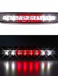 cheap -led 3rd brake light cargo lamp assembly high mount stop light rear tail light waterproof replacement for 1997-2007 dodge dakota 5056203ah, 55056203ac (chrome housing clear lens)