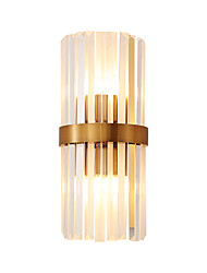 cheap -Modern Nordic Style Wall Lamps&Sconces Dining Room Shops Cafes Crystal Wall Light 110-120V 220-240V