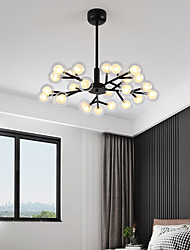 cheap -73 cm LED Chandelier Nordic Lantern Desgin Metal Painted Finishes Modern 110-120V 220-240V