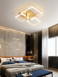cheap -40cm 47cm LED Ceiling Light Modern Nordic Square Acrylic Stepless Dimming Ceiling Lamp Gold Nordic Modern Living Room Bedroom Dining Room