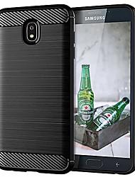 cheap -galaxy j7 2018 phone case,galaxy j7 refine/j7 v 2nd gen/j7 star/j7 top/j7 crown/j7 aura cases shock absorption slim tpu carbon fiber pattern protective case cover for samsung galaxy j7 2018(black)
