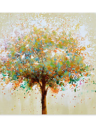 cheap -Tree Oil Painting On Canvas Abstract Contemporary Art Wall Paintings Handmade Painting Home Office Decorations Canvas Wall Art Painting Rolled Canvas(No Frame)