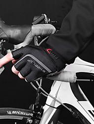 cheap -Bike Gloves / Cycling Gloves Touch Gloves Anti-Slip Wearable Motor Bike Winter Sports Fingerless Gloves Sports Gloves Black / Red Green / Black Bule / Black for Adults' Road Cycling Cycling / Bike