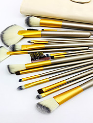 cheap -18 Rice White Makeup Brush Set Eye Shadow Brush Powder Powder Brush Beginner Makeup Makeup Brush