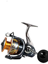 cheap -Fishing Reel Spinning Reel 5.0:1/4.7:1 Gear Ratio Ball Bearings Sea Fishing / Bait Casting / Freshwater Fishing / Trolling & Boat Fishing / Hand Orientation Exchangable
