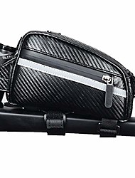 cheap -bicycle bag bicycle top tube bag bicycle frame package waterproof stable bicycle frame package professional bicycle accessories, carbon fiber