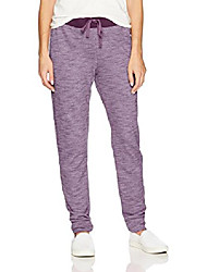 cheap -women's french terry jogger, purple pearl heather, 2x large