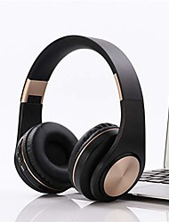 cheap -Macaron Hands-free Call Foldable Wireless Over Ear Headphones Hi-res Audio Bluetooth On-ear Style Headset with Soft Memory Protein Earmuffs Quick Charge Stereo hi-fi Sound