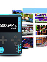 cheap -500 Games in 1 Handheld Game Player Game Console Rechargeable Mini Handheld Pocket Portable Classic Theme Retro Video Games with 2.4 inch Screen Kid's Adults' Men and Women 1 pcs Toy Gift