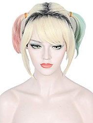 cheap -cosplay dye wig halloween costume wigs for women (short wig)