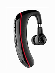 cheap -portable bluetooth earphone 4.2, over the ear headphones/180° rotation, ipx5 waterproof, automatic pairing, standby time about 360 hours hifi, red