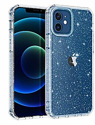cheap -compatible with iphone 12 case/iphone 12 pro case,shockproof clear designed with hard pc+ tpu bumper 4 corners protective case for iphone 12/12 pro 6.1 inch,glitter