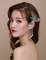 cheap -Alloy Hair Tool / Hair Accessory with Tassel / Crystals / Rhinestones 1 PC Wedding / Party / Evening Headpiece