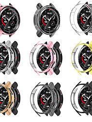 cheap -TPU Protective Case for Huawei Honor GS Pro Watch Case Ultra-thin Screen Plating Protective Cover For Huawei Honor Watch GS Pro