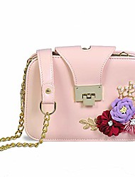 cheap -crossbody bags for women flower clutch purse and handbags soft small shoulder bag with chain strap