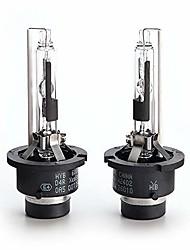 cheap -hyb 6000k 35w d4r car xenon hid headlight replacement bulb (pack of 2)