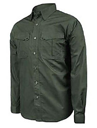cheap -men's lt2 long sleeve tactical shirt, olive, large