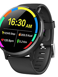 cheap -696 DM19 Men's Smartwatch Smart Wristbands WIFI Bluetooth Touch Screen Heart Rate Monitor Sports Hands-Free Calls Media Control Pedometer Call Reminder Activity Tracker Sleep Tracker Find My Device