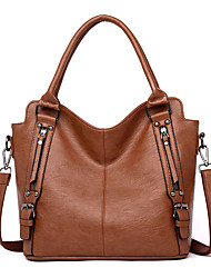 cheap -hobo bags for women purses and handbags washed pu leather shoulder bag ladies fashion tote