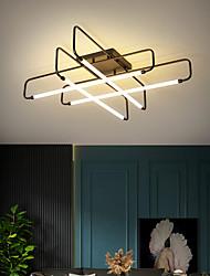 cheap -55cm 100cm LED Nordic Ceiling Light Black Gold Luxury Living Room Lamp Simple Creativity New Bedroom Lamp LED Ceiling Lamp