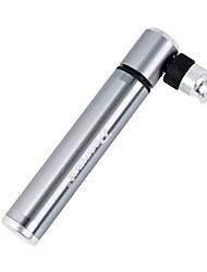 cheap -Mini Bike Pump Portable For Cycling Bicycle Aluminium alloy Silver