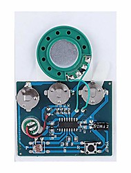 cheap -music sound voice module chip sound recordable module with button battery diy module application to the production of creative gifts(light version)