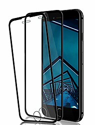 cheap -iphone se 2020/8/7/6s/6 screen protector by , [2 pack] hd clarity full coverage premium tempered glass, case friendly, anti - scratch, 3d touch accuracy film for iphone se 2nd/8/7/6s/6 (black)