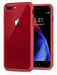 cheap -ultra hybrid [2nd generation] designed for iphone 8 plus case (2017) / designed for iphone 7 plus case (2016) - red