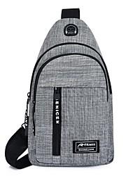 cheap -Unisex Bags Sling Shoulder Bag Chest Bag Date Office & Career 2021 MessengerBag Black Blue Gray