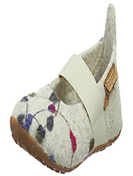 cheap -girls loafers, white 171 creme flowers, 23