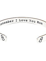 cheap -remember i love you mom gifts for mom from daughter forever and always (grey)