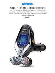 cheap -Bluetooth 5.0 FM Transmitter / Bluetooth Car Kit Car Handsfree Bluetooth / QC 3.0 / MP3 Car