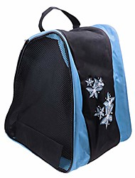 cheap -ice skate bag roller skates bag for boys and girls men inline skate bag women roller skate bag rollerblade bag pink (blue)