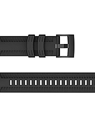 cheap -silicone replacement band strap for suunto 9/ baro smart watch sports wristband(black,as described)