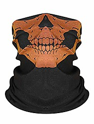 cheap -Cycling Face Mask Cover Halloween UV Sun Protection Windproof Fast Dry Quick Dry Bike / Cycling American flag 108 No. 90 Winter Summer for Men's Women's Motobike / Motorcycle Halloween