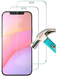 "cheap -[2 pack] compatible with iphone 12 pro 5g tempered glass screen protector (6.1""), ultra hd transparent protective film [9h hardness] [anti-fingerprint] [anti-scratch] [bubble free] for most cases"