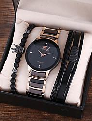 cheap -Steel Band Watches Analog Quartz Modern Style Stylish Minimalist Chronograph Large Dial / Titanium Alloy