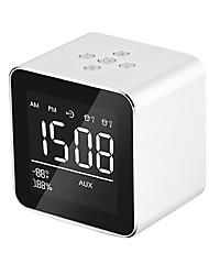 cheap -Mirror V9 Bluetooth Speaker Wireless Mini Phone Alarm Clock Audio Multifunctional Subwoofer Gift