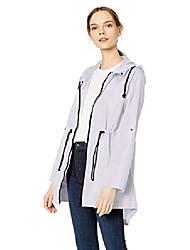cheap -women's plus size lightweight windbreaker anorak jacket, black, 2x