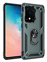 """cheap -s20 ultra 5g case, extreme protection armor heavy duty protective cover with 360 degree swivel ring kickstand for samsung galaxy s20 ultra 5g 6.9"""" jade"""