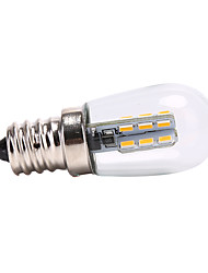 cheap -1.5 W LED Globe Bulbs 10pcs 5pcs 1pc 60-70 lm E12 24 LED Beads SMD 3014