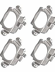cheap -4 pcs h7 led headlight bulb adapter holder for mercedes-benz c200 c300 c350 b260 b200 gla200 gla260 gl350 gl450, chery g5, pentium b50 b70, ford edge