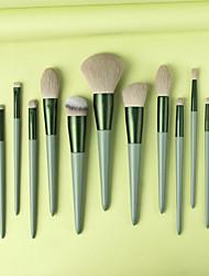 cheap -Professional Makeup Brushes 13pcs Soft Full Coverage Adorable Lovely Comfy Wooden / Bamboo for Makeup Tools Eyeliner Brush Blush Brush Foundation Brush Makeup Brush Lip Brush Lash Brush Eyebrow Brush