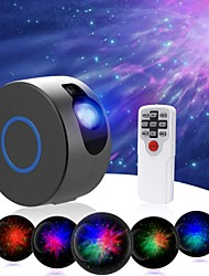 cheap -2 in 1 Aurora Starry Sky Projector for Christmas Decoration LED Projector Galaxy Ocean Nebula Lamp with Remote Control 7 Colors Night Scape Lighting Christmas Gift Landscape Light