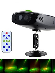 cheap -RG Disco Light Mini Laser Projector Sound Controlled Disco Ball Stage Light with Remote Control Night Scape Lighting for KTV Party DJ Flash Dance Floor Christmas Snowflake Film Projection Lamp