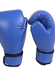cheap -Exercise Gloves Boxing Bag Gloves Boxing Training Gloves For Fitness Boxing Leisure Sports Muay Thai Full Finger Gloves Waterproof Stretchy Protective PU(Polyurethane) Black Red Blue